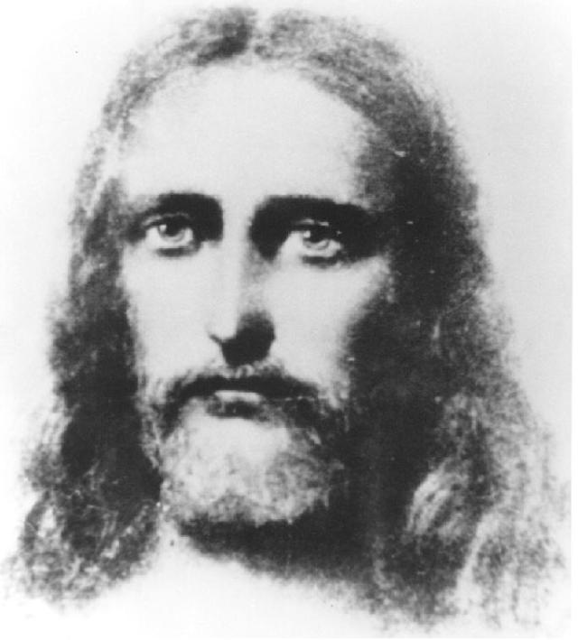 The face of Jesus.