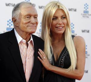 Hugh and Crystal Hefner make a very lovely couple.